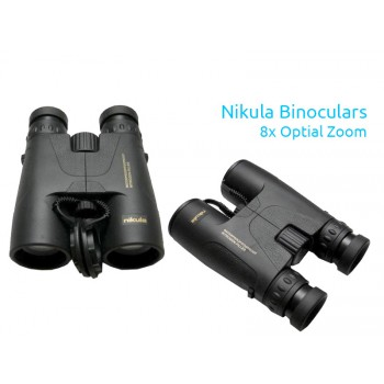 Nikula  Professional Binoculars for Hunting - Black