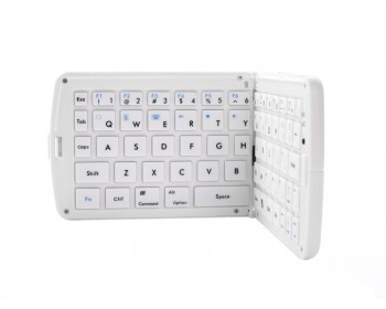 Bluetooth Folding Keyboard GK208 - White