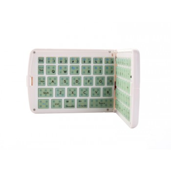 Bluetooth Folding Keyboard GK208 - Green