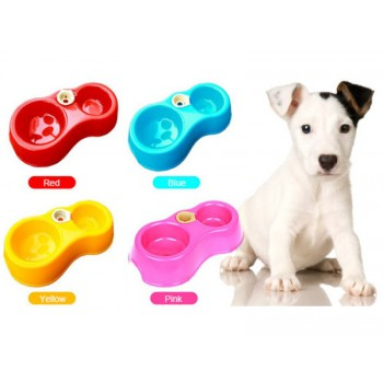 Pet food and water dispenser Multi-Color Available