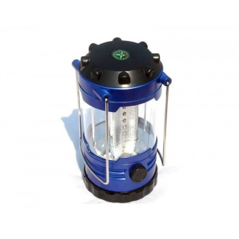 12 LED Hiking Portable Camping Lantern Light Lamp with Compass Including Battery