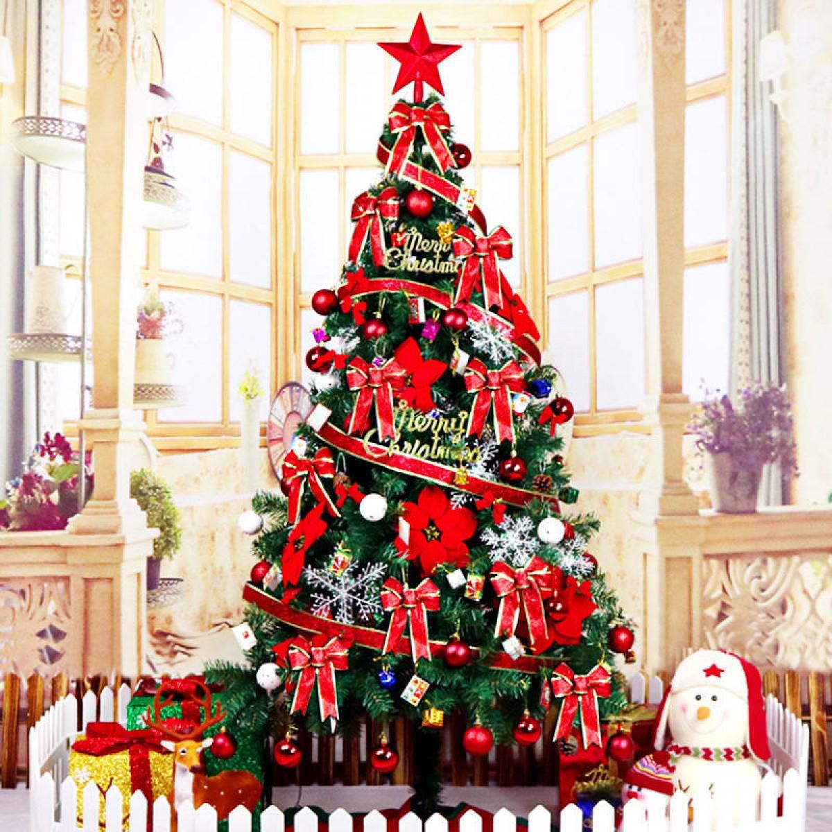 2 Christmas Tree.1 8m Christmas Tree With Decorations