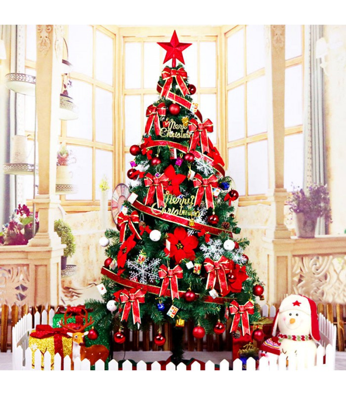 1.8m Christmas Tree with Decorations