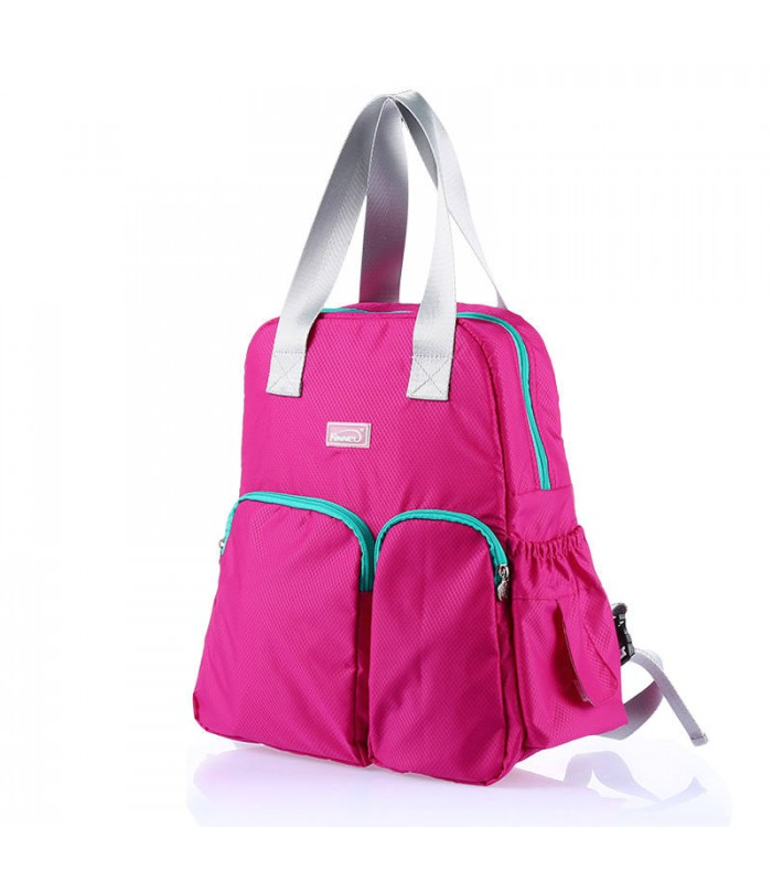 Multifunctional Baby Diaper Nappy Backpack Bag Pink