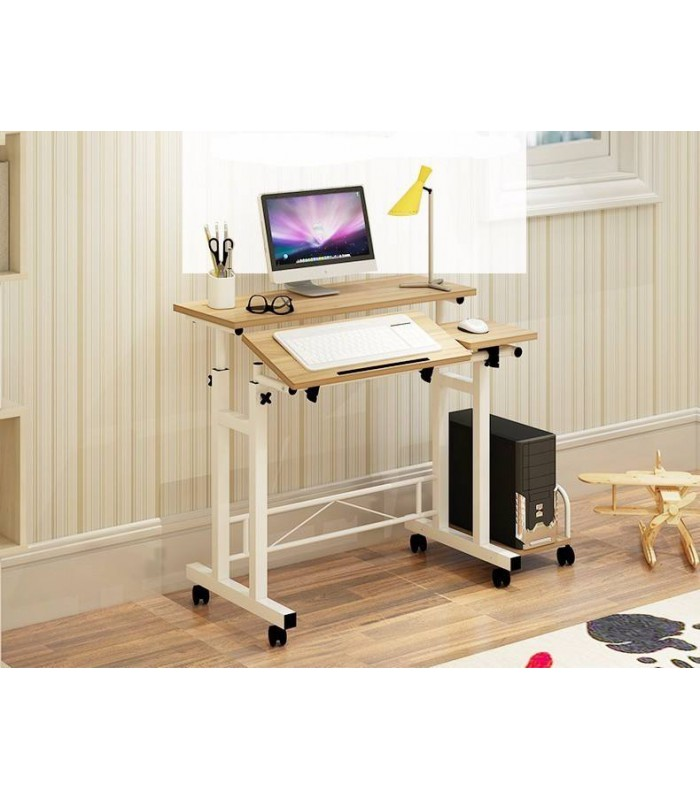 Office Desk Adjustable Standing fordable - Two Color Available