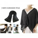 #Summer Special# Multipurpose Sunshade Stole With UV Protection UPF20