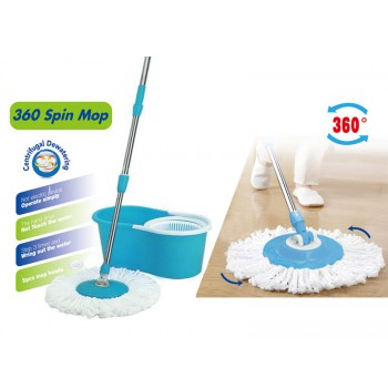 360° Rotate Magic Spin Mop - Blue