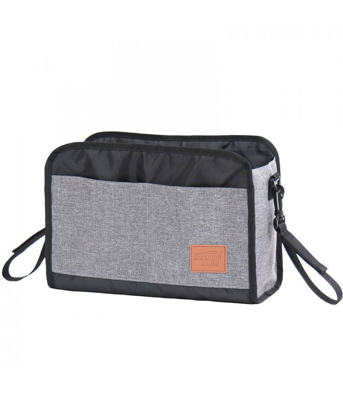 Mummy Diaper Bag Liner for Baby Nappy Storage Grey Small