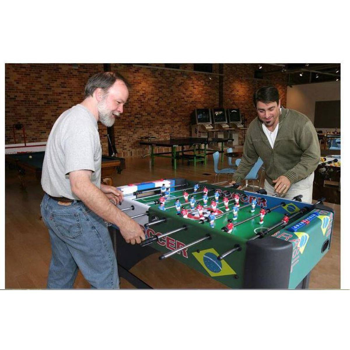 5ft Soccer Foosball Table Heavy Duty Pub Size