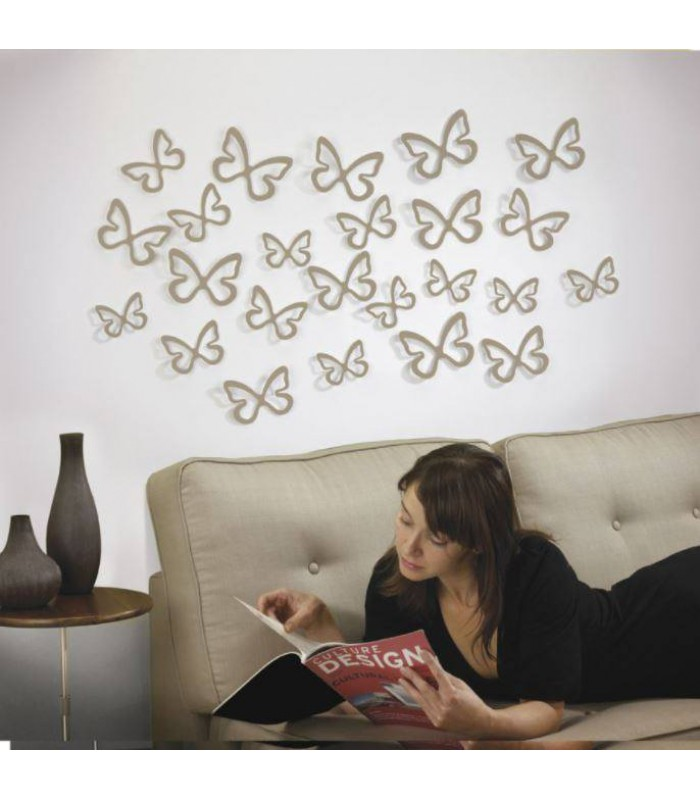 3D Wall Decoration - Butterfly color
