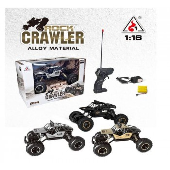 Remote Control  Car 1:18 4DW 2.4GHz Metal Rock Crawlers Rally Climbing Car