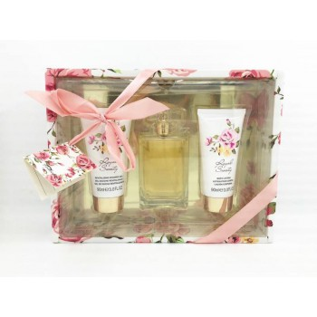 TC5010 Body Lotion Perfume Mini 3 Piece Lady Gift Set
