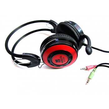 A10 Gaming Stereo Headphone with Microphone - Red or silver