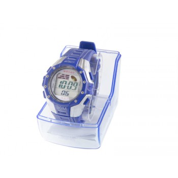 BOSOT Water Resistant Sport Digital Watch for Men B-818 - Blue