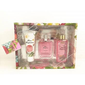 TC5003   Body Mist  - Shower Gel  Perfume Mini 3 Piece Lady Gift Set