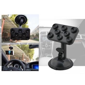 360 Degrees Car Universal Phone Holder Mount Sucker Stand - White