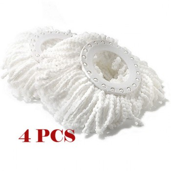 360° Rotate Spin Mop Replacement Heads 4PCS