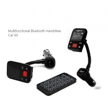 Car Charger FM Transmitter Bluetooth Handsfree All-in-one Kit