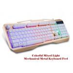 Backlight USB Mechanical feeling Waterproof Design Wired Gaming Keyboard