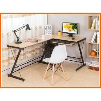 Corner Computer Desk Wooden Color