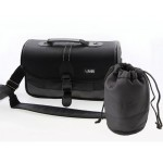 #Special# Professional Camera Padded Shoulder Bag with Padded Lens Pouch