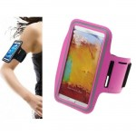 Running Armband Case for Galaxy Note & SONY-PINK