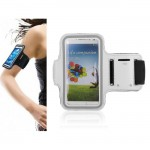 Armband for Samsung S2 S3 S4 S5 S6 Phones - White