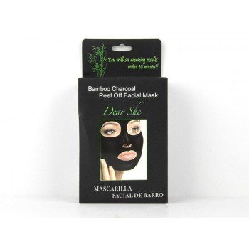Bamboo black Face Mask  10 piece per Box
