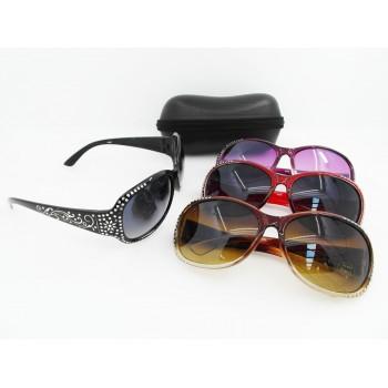 Lightweight Women Spindrift Pattern Glaring Stylish Sunglasses