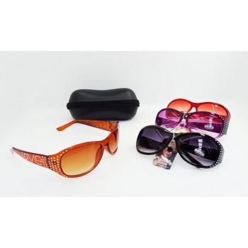 Lightweight Women Love Pattern Glaring Stylish Sunglasses