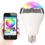 SMART LED Wireless Speaker Light Bulb E27