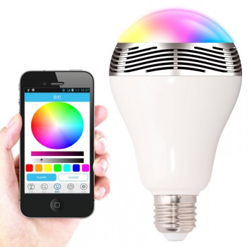 #Special# Smart LED Wireless Buetooth Speaker Colorful Light Bulb