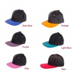 #Clearance# Simple Color Aerial  Baseball Cap Hat 100% COTTON Multi-Color