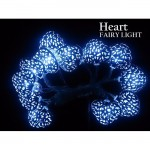 #Special# Battery Powered Moroccan Style Fairy Light - Heart Including Batteries