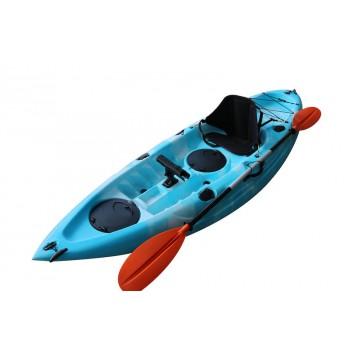 Single Kayak Lake Blue