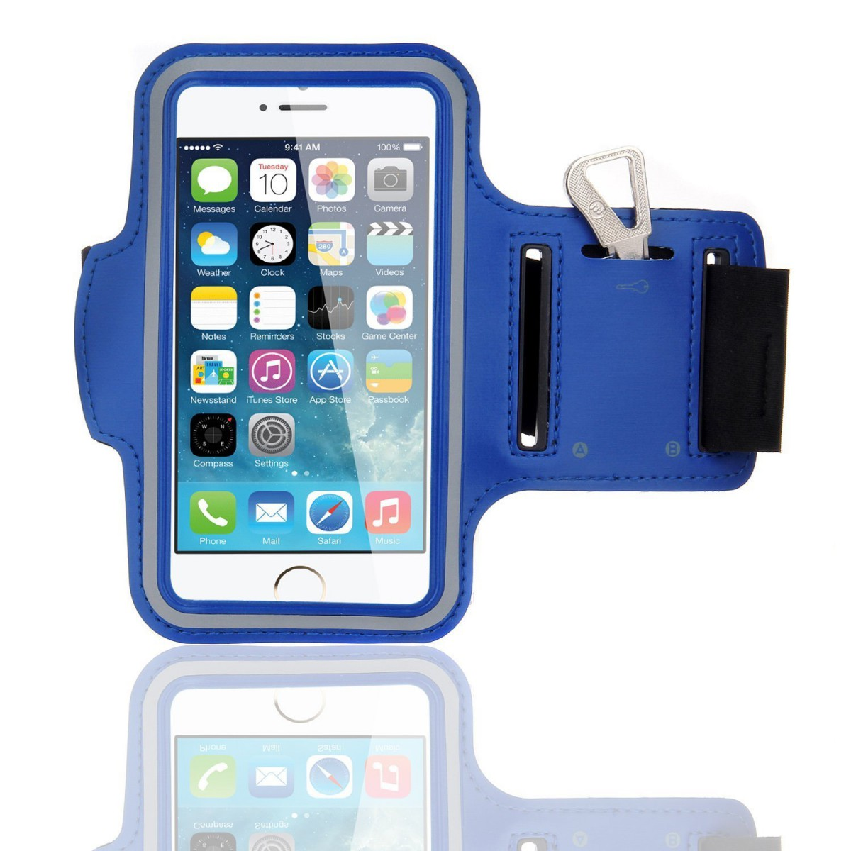 best sneakers 4ae4c 9c8c2 Armband Case for iPhone 5/5s/6/6s Blue