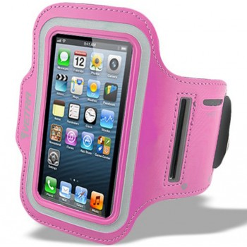 Armband Case for iPhone 5/5s/6/6s Pink