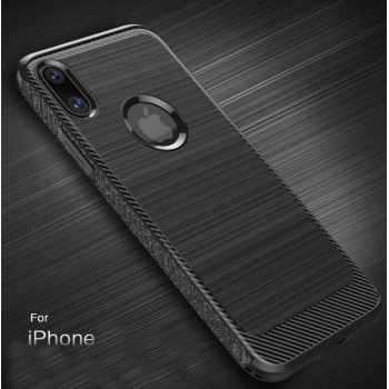 iPhone 7/8 or iPhone 7/8 Plus e Carbon Fiber TPU case