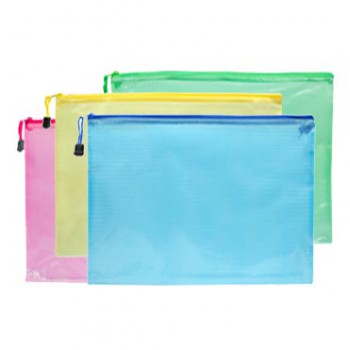 #Clearance# A4 Zipped File Folder Organizer Bag (3 pieces)