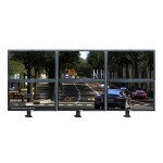 """#Clearance# Dual LCD Monitor Bracket Table Stand Support 17-24"""""""