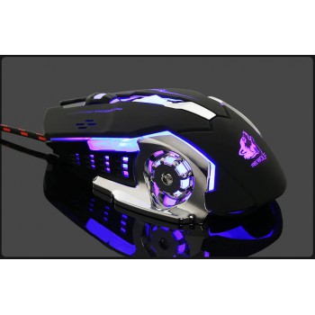 Free Wolf 6-Key Programmable Gaming Mouse
