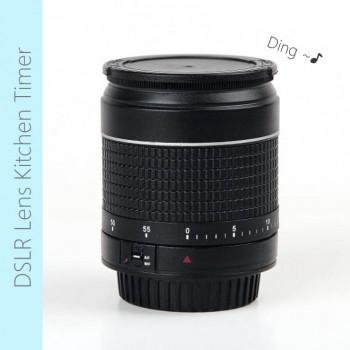 Camera Lens Shape Mini Kitchen Timer