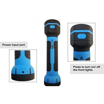 Rechargeable LED Flashlight Torch