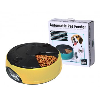 #Special# Automatic Pet Feeder 6 Meal Dog Dispenser