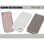 iPhone 5/5S Silver Glaring Glitter Case