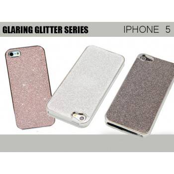 #Special# Glaring Glitter Cases for iPhone 5 / 5S Sliver or Black