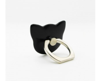 Cute Cat Shape 360° Finger Phone Ring Holder Mount Satnd for Phone Tablet