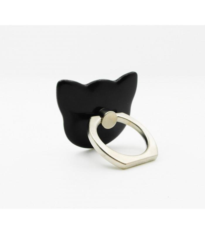 Cute Cat Shape 360° Finger Phone Ring Holder Mount Satnd for Phone Tablet