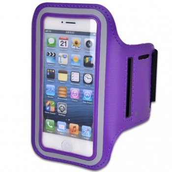 Armband Case for iPhone 5/5s/6/6s Purple