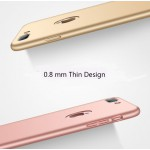 Luxury Soft Silicon Case for iPhone 7 or iPhone 7 Plus Black or Gold or Pink